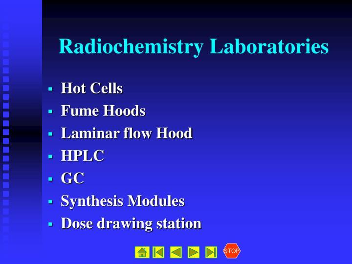Radiochemistry Laboratories