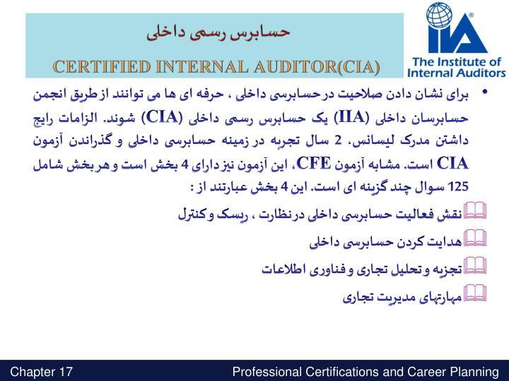 حسابرس رسمی داخلی