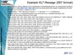 example hl7 message er7 format