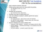nist ihe pcd test guidelines 09 10 pre connectathon