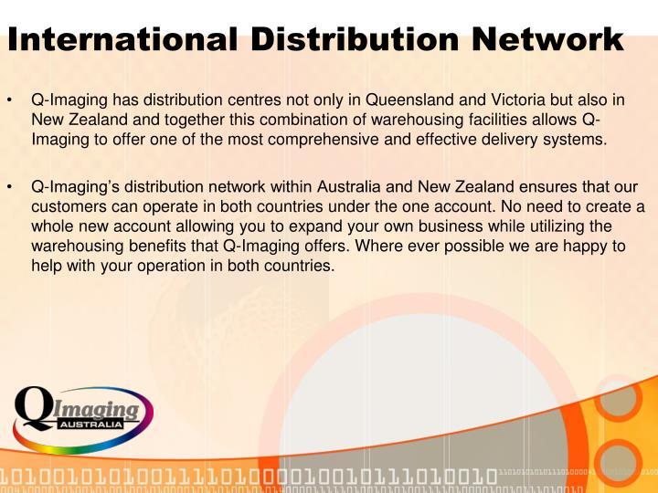 International Distribution Network