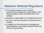 medicare medicaid regulations