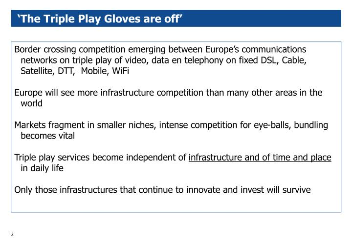 The triple play gloves are off