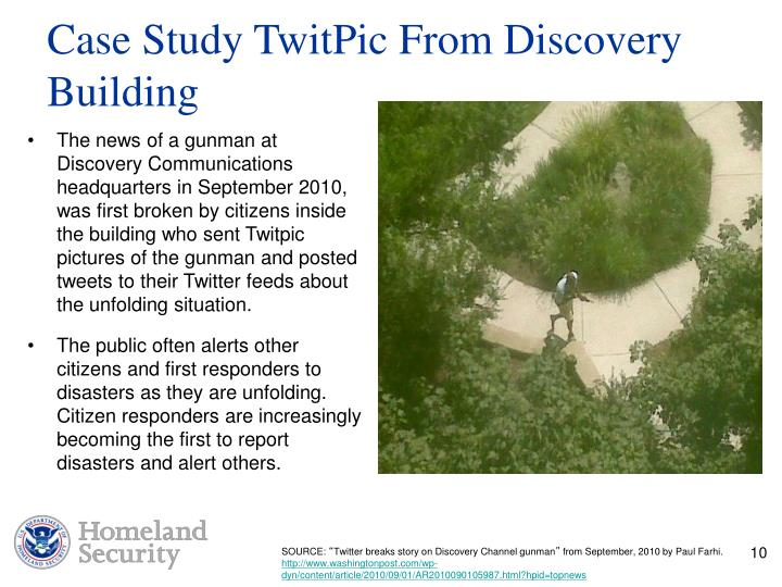 Case Study TwitPic From Discovery Building
