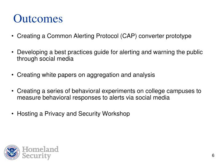 Creating a Common Alerting Protocol (CAP) converter prototype