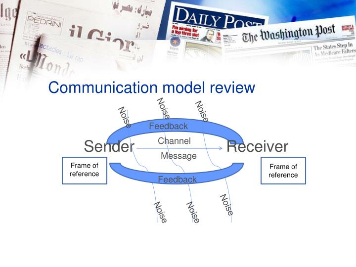 Communication model review