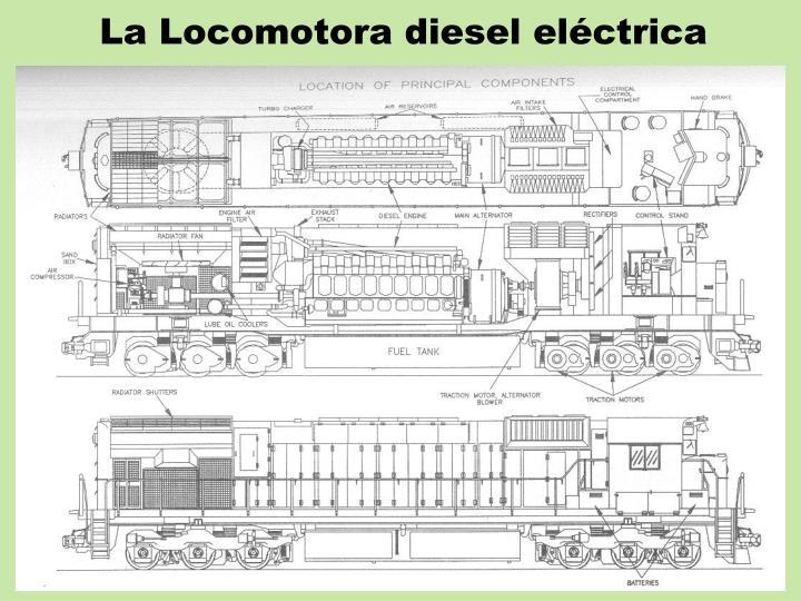 La Locomotora diesel eléctrica