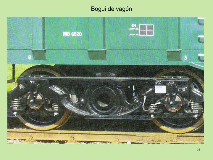 Bogui de vagón