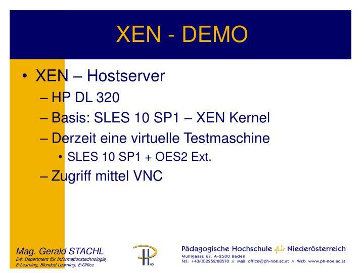 XEN - DEMO