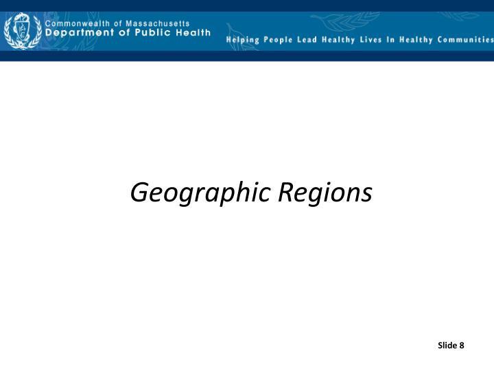 Geographic Regions