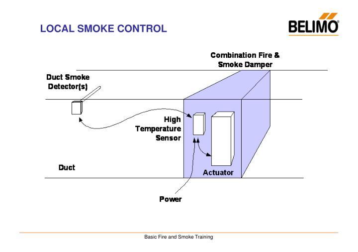 LOCAL SMOKE CONTROL