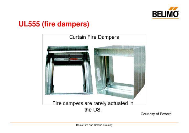 UL555 (fire dampers)
