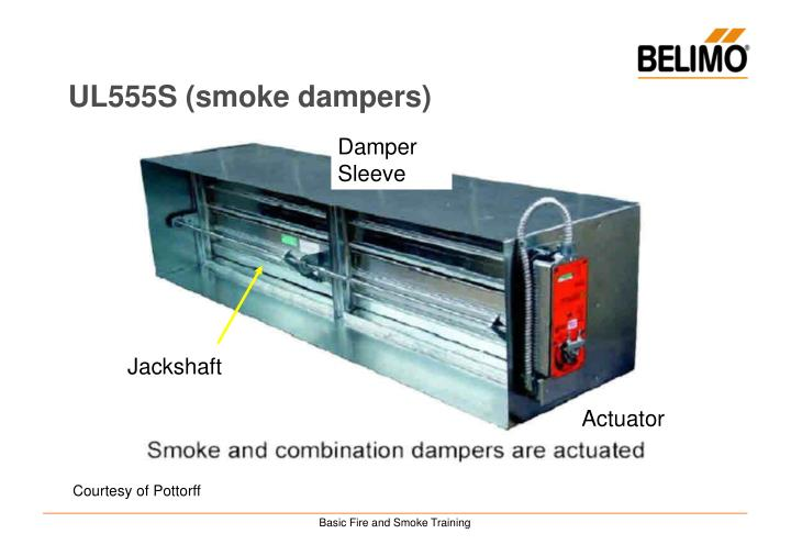 UL555S (smoke dampers)