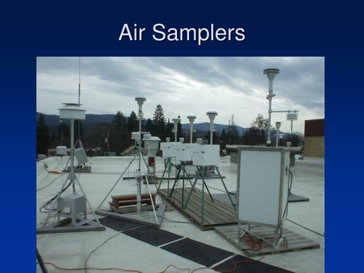 Air Samplers