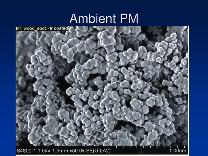 Ambient PM