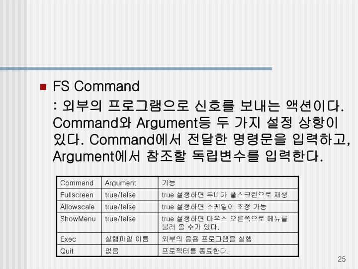 FS Command