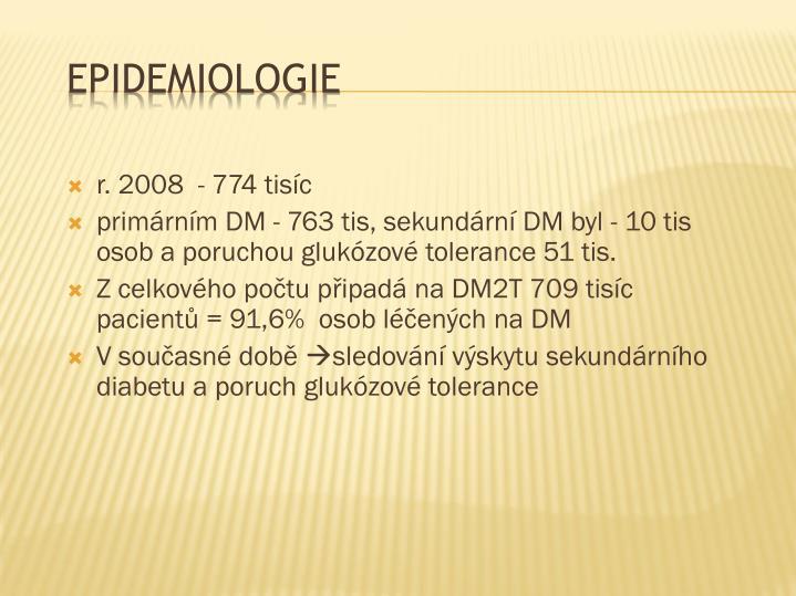 r. 2008  - 774 tisíc