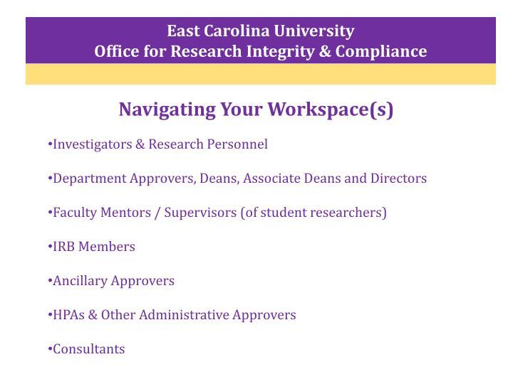 East Carolina University