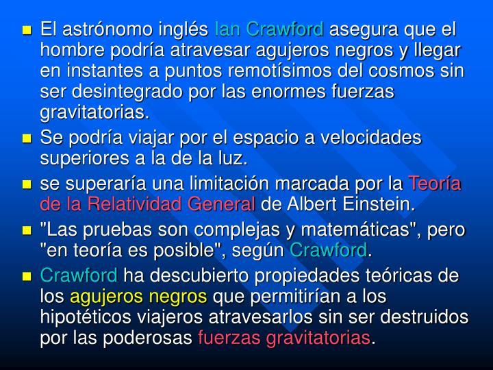 El astrónomo inglés