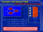 example sat based ftbm step1 cnfs for the plb template