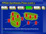 fpga synthesis flow cont