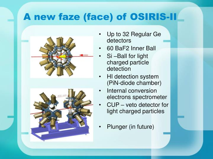 A new faze (face) of OSIRIS-II