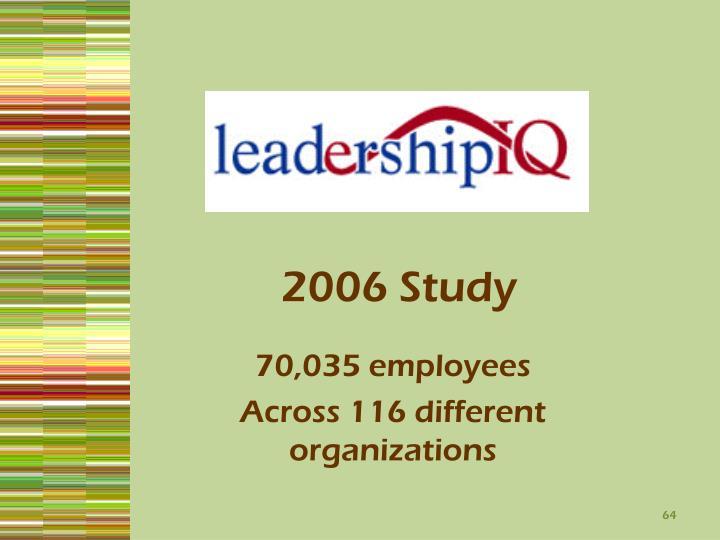 2006 Study