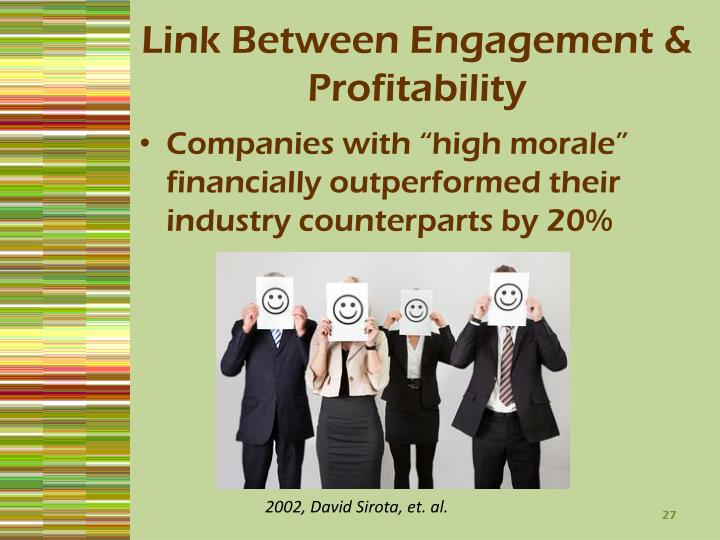 Link Between Engagement & Profitability