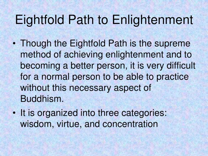 Eightfold Path to Enlightenment