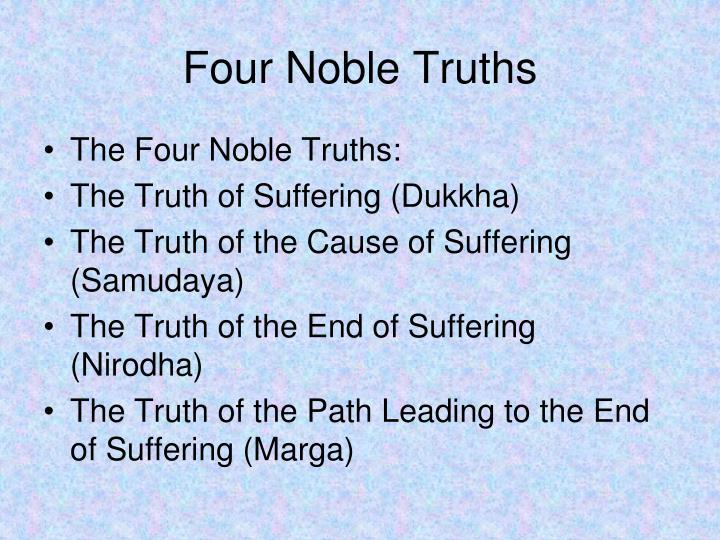 Four Noble Truths