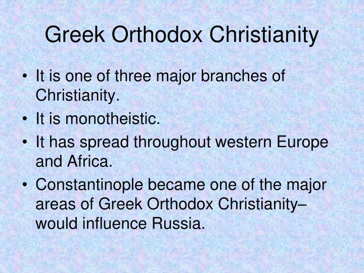 Greek Orthodox Christianity