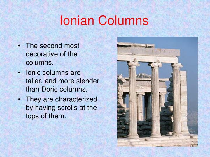 Ionian Columns