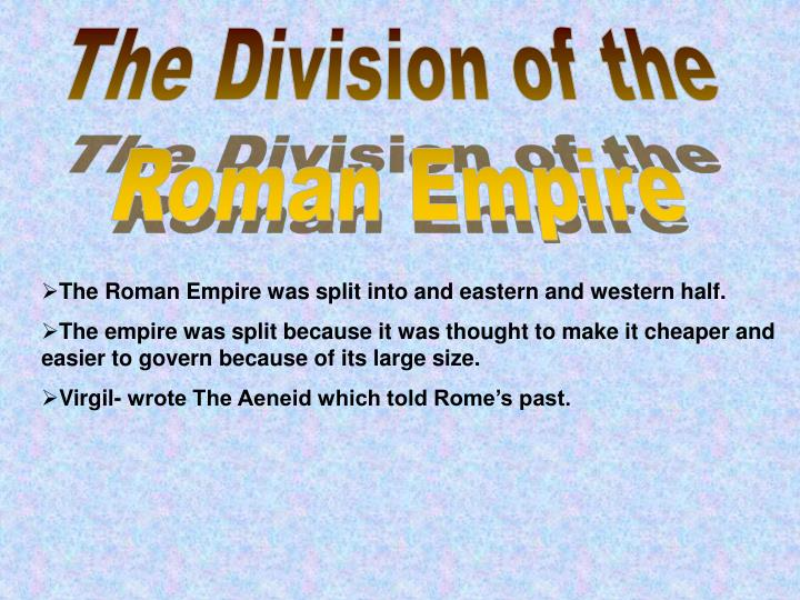 The Division of the