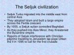 the seljuk civilization