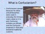 what is confucianism1