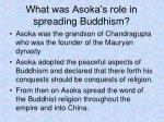 what was asoka s role in spreading buddhism