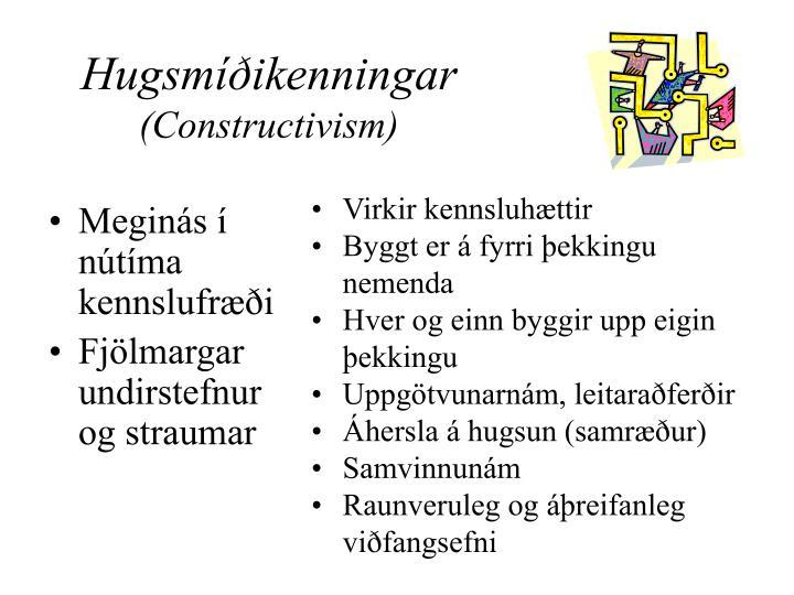 Hugsmíðikenningar