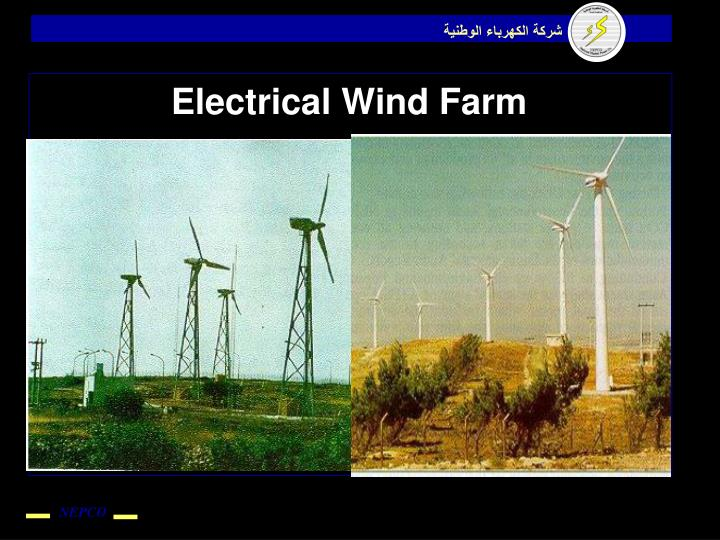 Electrical Wind Farm