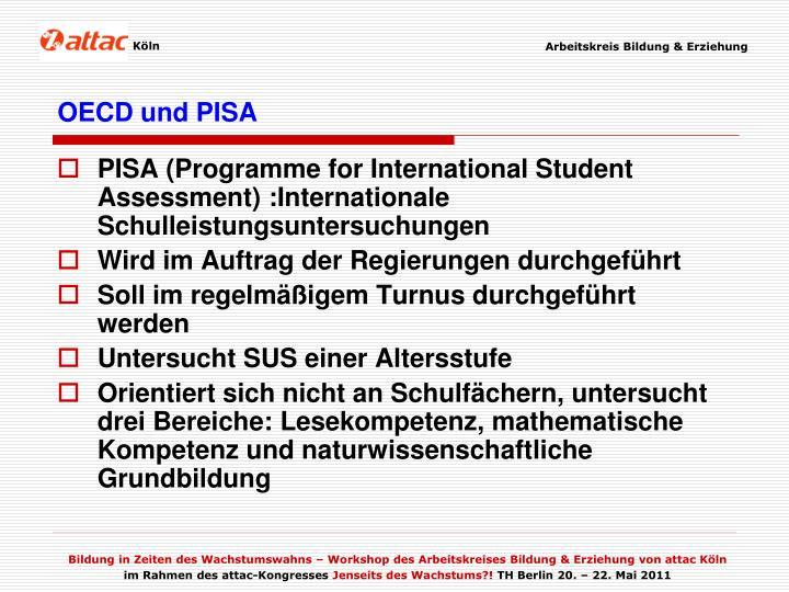 OECD und PISA