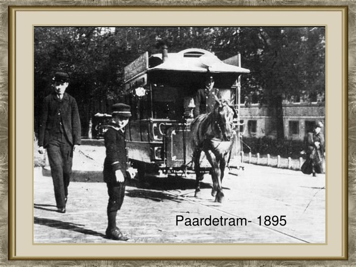 Paardetram- 1895