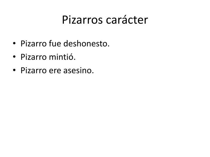 Pizarros