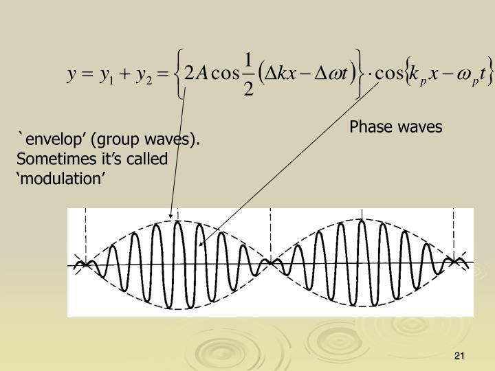 Phase waves