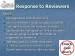 response to reviewers1