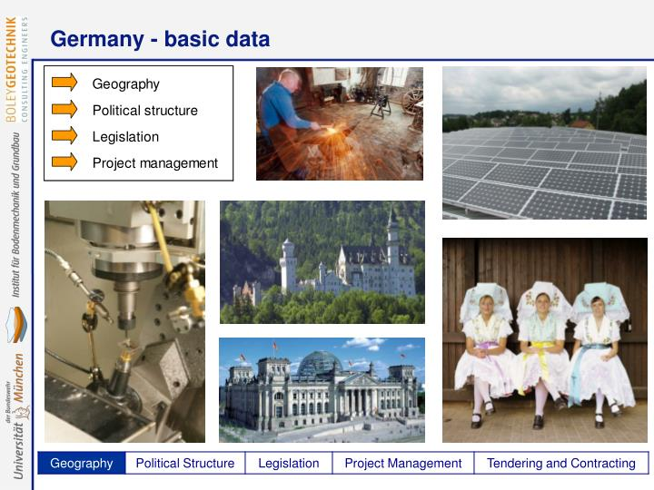 Germany - basic data
