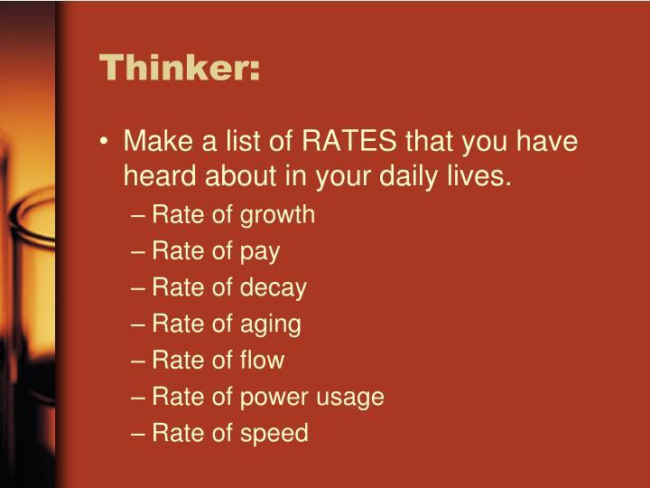 Thinker: