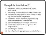 mengelola kreativitas 2