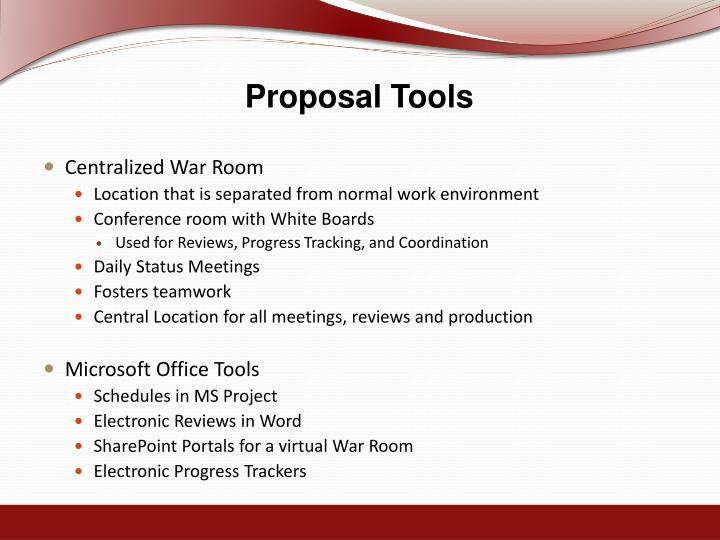 Proposal Tools