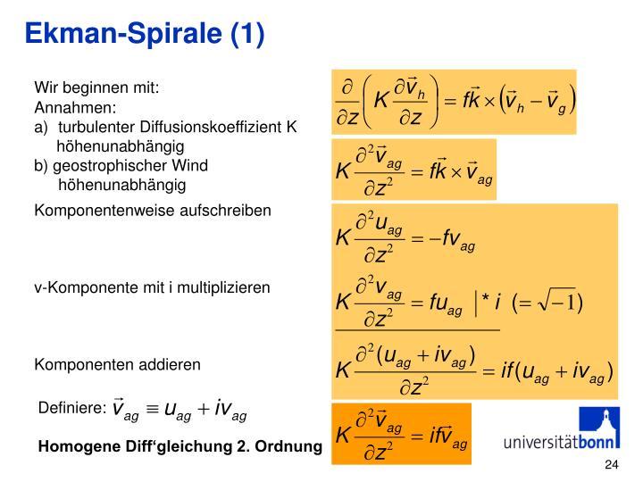 Ekman-Spirale (1)