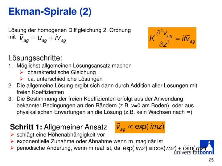 Ekman-Spirale (2)
