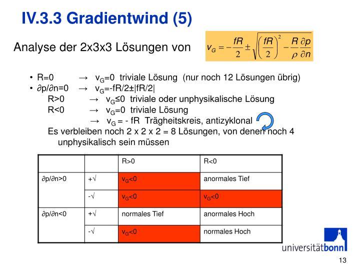 IV.3.3 Gradientwind (5)
